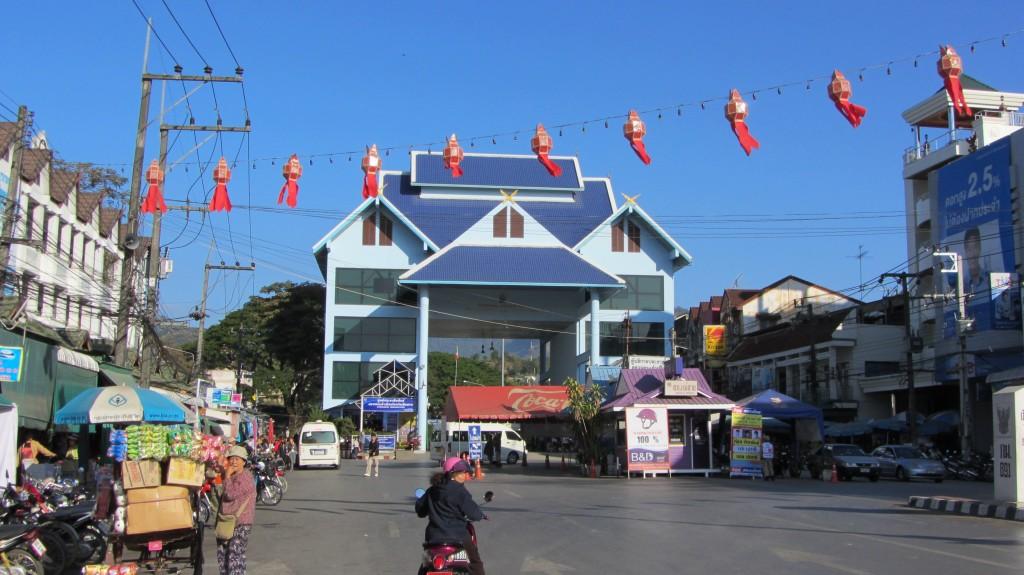 Grenzübergang nach Myanmar