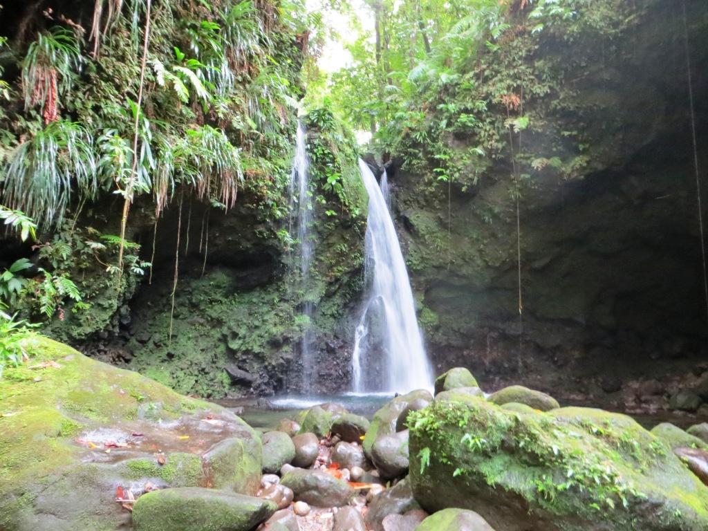 Wasserfälle auf Dominica