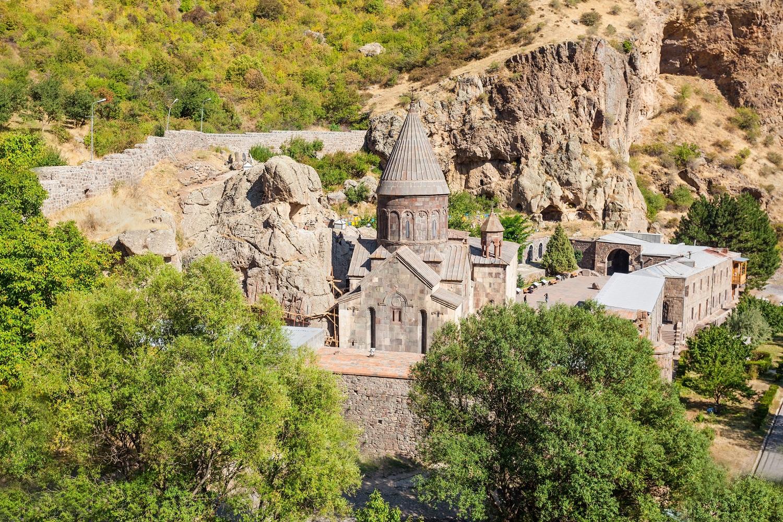 Höhlenkloster Geghard im Kaukasus, Armenien