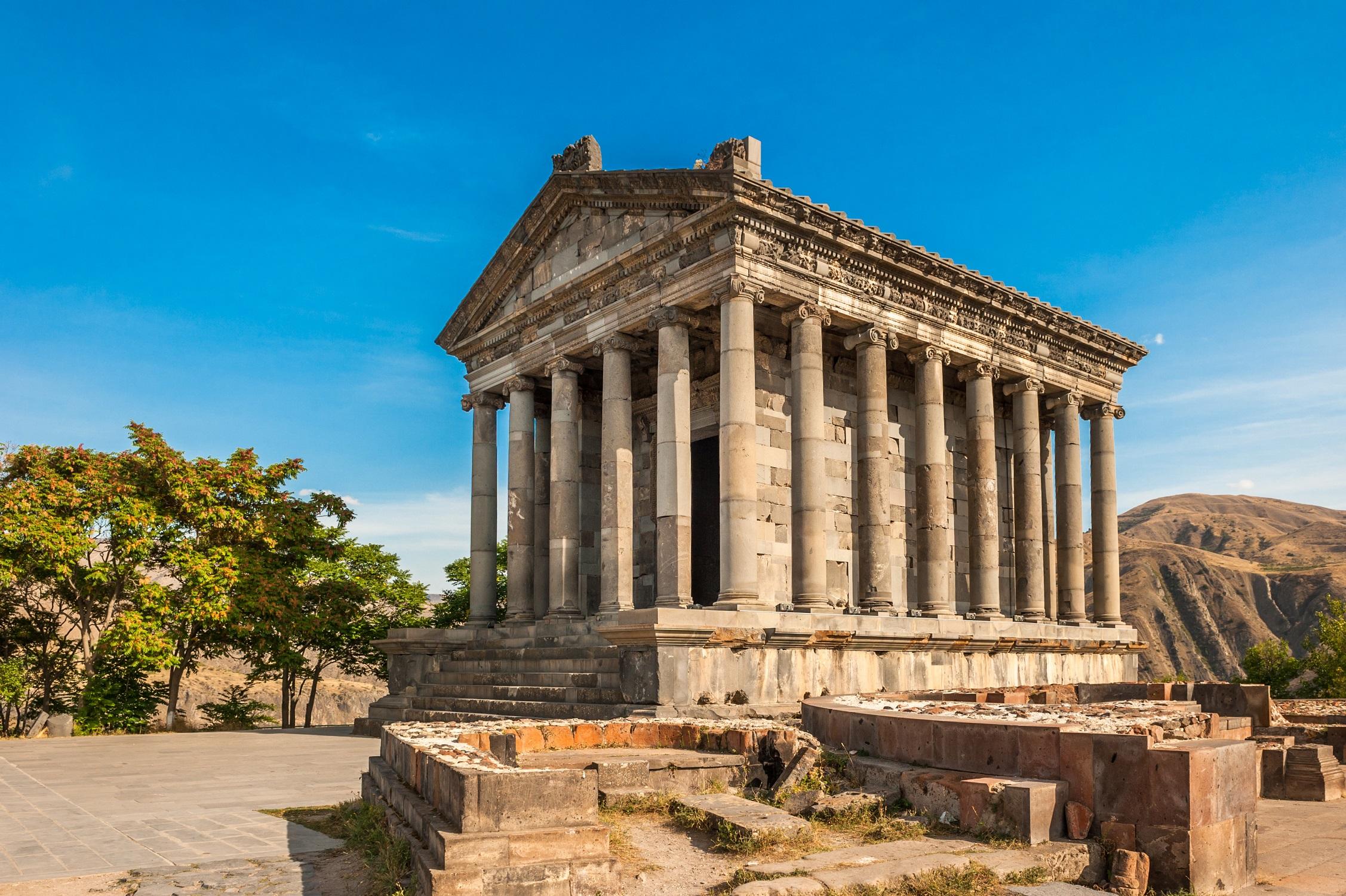 Hellenistischer Tempel Farni, Armenien