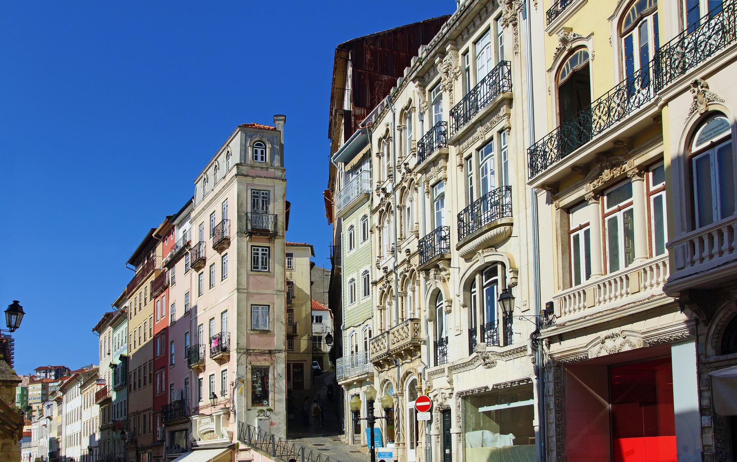 Altstadt von Coimbra, Portugal