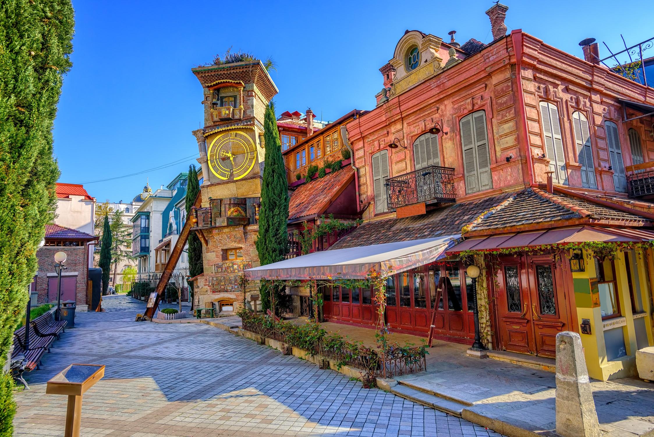 Tiflis Altstadt, Georgien