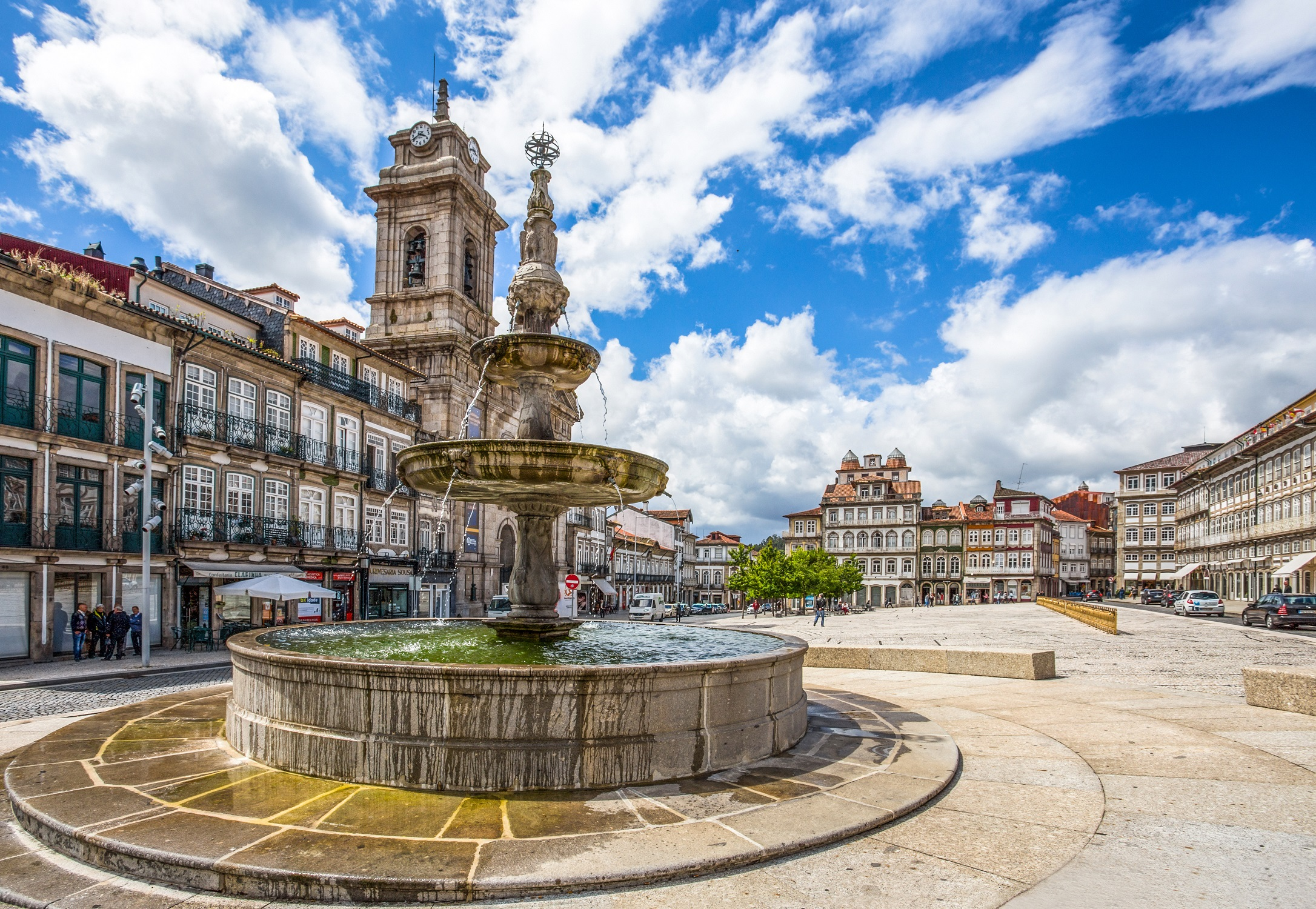 Toural Square in Guimarães, Portugal